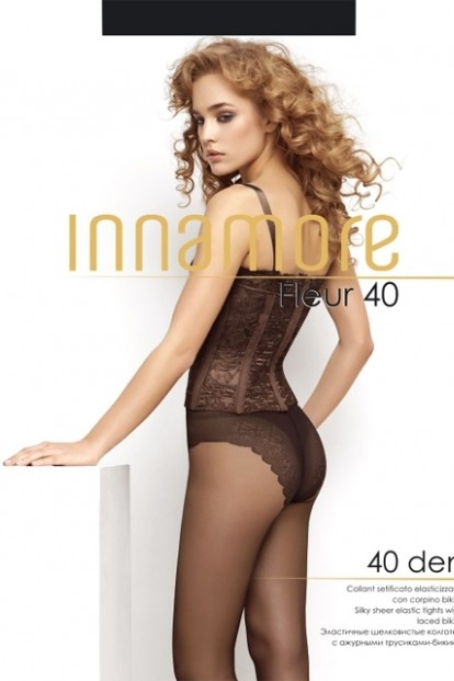 Классические колготки с трусиками Innamore FLEUR 40 - фото 1