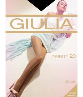 Шелковистые колготки Giulia INFINITY 20