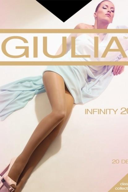 Классические женские колготки Giulia INFINITY 20 den - фото 1