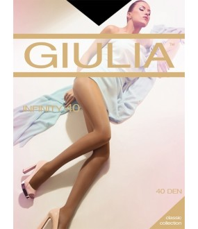 Шелковистые колготки Giulia INFINITY 40