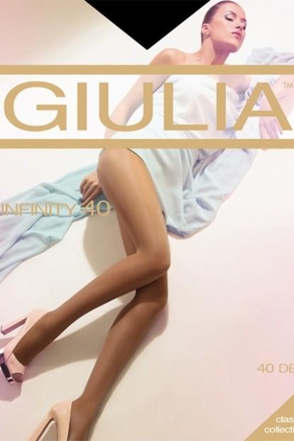 Классические женские колготки Giulia INFINITY 40 den - фото 1