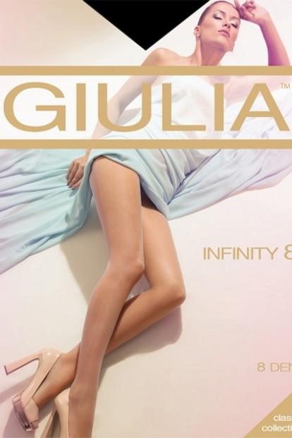 Классические летние колготки 8 den Giulia INFINITY