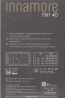 Шелковистые классические кружевные чулки Innamore FLIRT 40