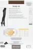 Классические женские матовые колготки Filodoro Classic NINFA 40 - фото 10
