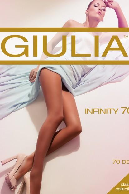 Классические женские колготки Giulia INFINITY 70 den - фото 1