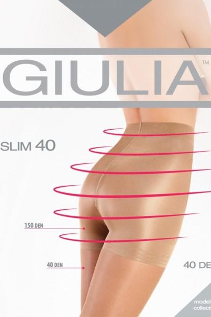 Утягивающие колготки с шортиками Giulia SLIM 40 - фото 1