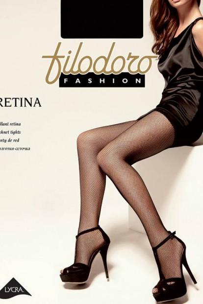 Ультратонкие колготки в сетку Filodoro CLASSIC RETINA