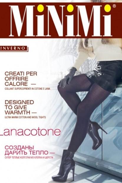 Теплые шерстяные колготки Minimi Lanacotone 180