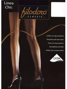 Колготки со швом Filodoro Classic LINEA CHIC 20 den