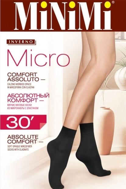 Непрозрачные матовые носки Minimi MICRO 30