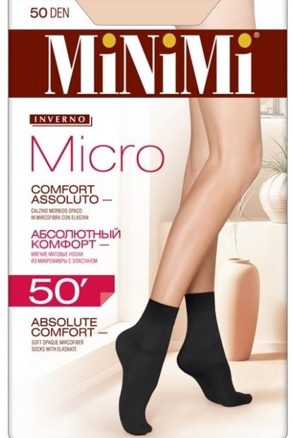 Непрозрачные матовые носки Minimi MICRO 50 - фото 1