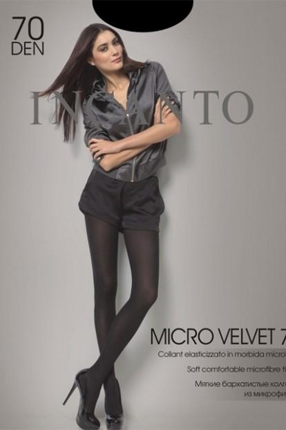 Матовые колготки с микрофиброй Incanto MICRO VELVET 70 - фото 1