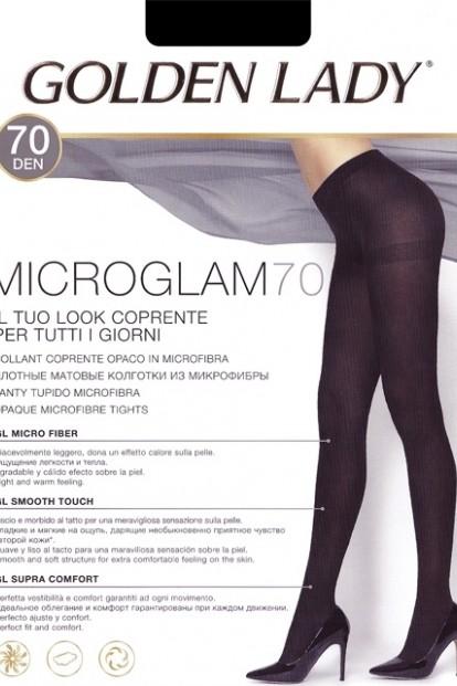 Теплые матовые колготки Golden Lady Microglam 70