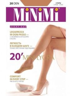 Женские подследники Minimi Mini Lycra 20 Salvapiede
