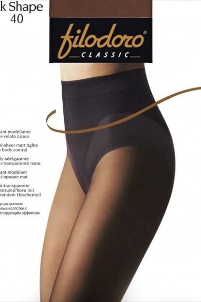 Утягивающие колготки с трусиками Filodoro Classic OK SHAPE 40 - фото 1