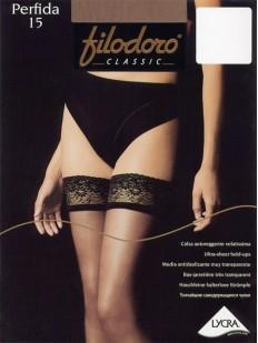 Тонкие чулки Filodoro Classic Perfida 15 Autoreggente
