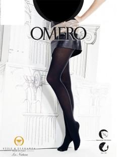 Теплые колготки с шелком Omero PLUMAGE 150 Seta