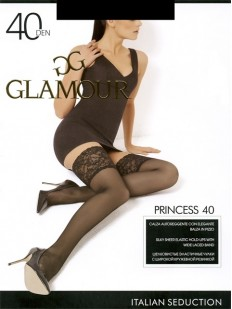 Классические чулки Glamour Princess 40 Autoreggente