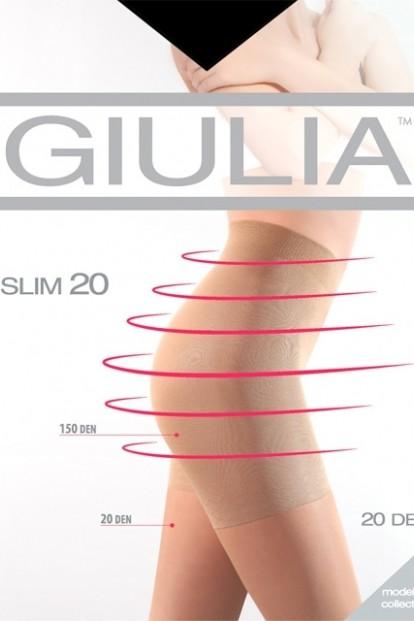 Утягивающие колготки с шортиками Giulia SLIM 20 - фото 1
