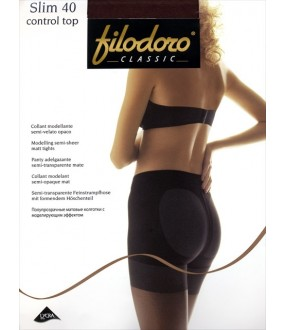 Прозрачные колготки Filodoro Classic SLIM 40 CONTROL TOP