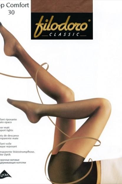 Поддерживающие колготки с шортиками Filodoro Classic TOP COMFORT 30 - фото 1