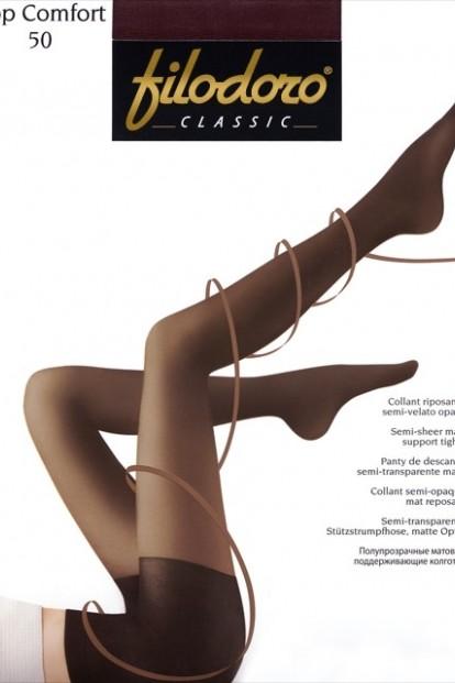 Поддерживающие колготки с шортиками Filodoro Classic TOP COMFORT 50 - фото 1