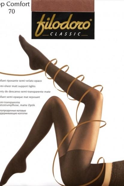 Поддерживающие колготки с шортиками Filodoro Classic TOP COMFORT 70 - фото 1