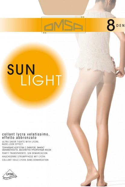 Ультратонкие летние колготки Omsa SUN LIGHT 8 - фото 1