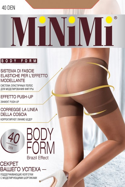 Утягивающие женские колготки Minimi BODY FORM 40 - фото 1