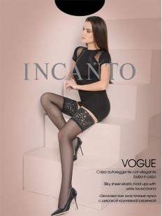 Тонкие чулки Incanto Vogue 20 Autoreggente