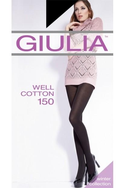 Теплые хлопковые колготки Giulia WELL COTTON 150 - фото 1