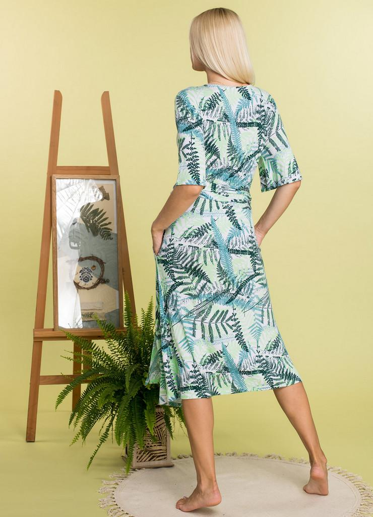 Платье Из Вискозы На Лето Купить