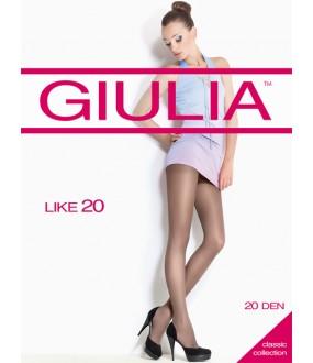 Тонкие эластичные колготки GIULIA LIKE 20