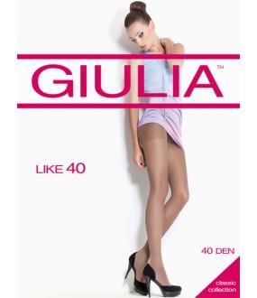 Прозрачные эластичные колготки GIULIA LIKE 40