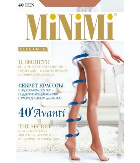 Тонкие лечебные колготки Minimi AVANTI 40