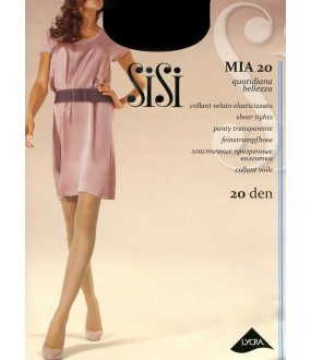 Тонкие прозрачные колготки SISI MIA 20