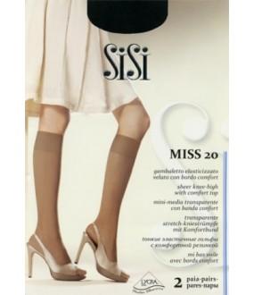 Тонкие гольфы SISI MISS 20 2 (п.)