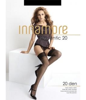 Тонкие шелковистые чулки Innamore ROMANTIC 20