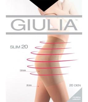 Шелковистые колготки Giulia SLIM 20